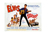 California Holiday (aka Spinout), Elvis Presley, 1966 Giclée-vedos