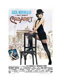 Cabaret, Italian Poster, Liza Minnelli, Michael York, Liza Minnelli, 1972 Reproduction procédé giclée