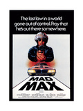 Mad Max, Mel Gibson, 1979 Reproduction procédé giclée
