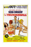 Thunderball, Sean Connery (Kneeling), 1965 Reproduction procédé giclée