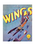 Wings, 1927 Impressão giclée