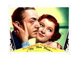 The Thin Man, William Powell, Myrna Loy, 1934 ジクレープリント