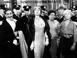 A Night at the Opera, Groucho Marx, Margaret Dumont, Chico Marx, Robert O'Connor, Harpo Marx, 1935 Photo