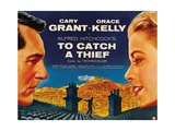 To Catch a Thief, from Left: Cary Grant, Grace Kelly, 1955 Giclee Print