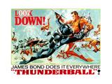 Thunderball, Sean Connery, (Poster Art), 1965 Giclee Print