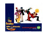 Yellow Submarine, the Beatles, 1968 Giclee-trykk