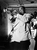 The Glenn Miller Story, Louis Armstrong, 1954 Photographie