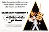 A Clockwork Orange, British Poster Art, Malcolm Mcdowell, 1971 Poster