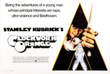 A Clockwork Orange, British Poster Art, Malcolm Mcdowell, 1971 Poster