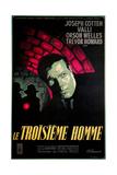 Le Troisieme Homme, (AKA the Third Man), Orsom Welles, 1949 Giclée-tryk