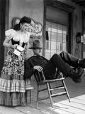 My Darling Clementine, Linda Darnell, Henry Fonda (As Wyatt Earp), 1946 写真