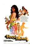 Foxy Brown, Pam Grier, 1974 Giclée-Druck