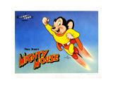Mighty Mouse, Ca. 1940s Reproduction procédé giclée