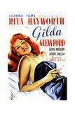 Gilda, Rita Hayworth, Spanish Poster Art, 1946 Impressão giclée