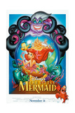 The Little Mermaid, 1989 Giclee-trykk