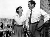 Roman Holiday, Audrey Hepburn, Gregory Peck, 1953 Photo