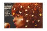 A Star Is Born, Polish Poster Art, Barbra Streisand, 1976 Giclee Print