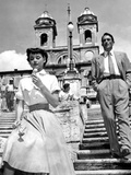 Roman Holiday, Audrey Hepburn, Gregory Peck, 1953 写真