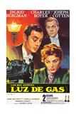 Gaslight, Joseph Cotton, Charles Boyer, Ingrid Bergman, 1944 Giclée-Druck