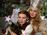 The Wizard of Oz, Judy Garland, Billie Burke, 1939 Photo