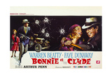 Bonnie and Clyde, (AKA Bonnie Et Clyde), 1967 Giclee-trykk