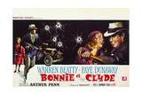 Bonnie and Clyde, (AKA Bonnie Et Clyde), 1967 Impressão giclée