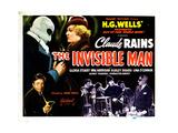 The Invisible Man, 1933 Impressão giclée
