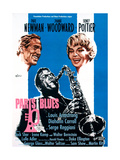 Paris Blues, from Left, Paul Newman, Sidney Poitier, Joanne Woodward, 1961 Giclée-tryk
