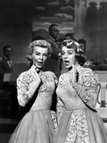 Navidades blancas, Vera-Ellen, Rosemary Clooney, 1954 Fotografía