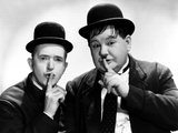 Way Out West, Stan Laurel, Oliver Hardy, 1937 Valokuva