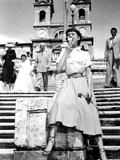 Roman Holiday, Audrey Hepburn, Gregory Peck, 1953 写真