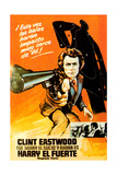 Magnum Force, (AKA Harry El Fuerte), Clint Eastwood, 1973 Giclee Print