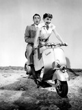 Vacances romaines, Audrey Hepburn, Gregory Peck, 1953 Photographie