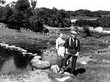The Quiet Man, Maureen O'Hara, John Wayne, 1952 Foto
