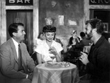 Roman Holiday, Gregory Peck, Audrey Hepburn, Eddie Albert, 1953 Foto