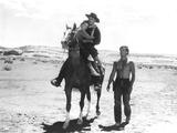 The Searchers, Natalie Wood, John Wayne, Jeffrey Hunter, 1956 写真