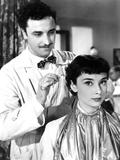 Roman Holiday, Paolo Carlini, Audrey Hepburn, 1953 Photo