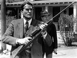 To Kill a Mockingbird, Gregory Peck, Frank Overton, 1962 Photo
