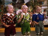 The Wizard of Oz, from Left: Jerry Maren, Harry Earles, 1939 Photo