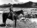 Red River, Montgomery Clift, 1948 Foto