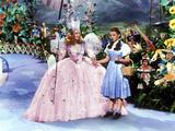 The Wizard of Oz, Billie Burke, Judy Garland, 1939 Photographie
