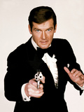 Live and Let Die, Roger Moore, 1973 Fotografia
