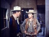 Rio Bravo, from Left: John Wayne, Ricky Nelson, 1959 Photo