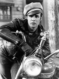 The Wild One, Marlon Brando, 1954, Leather Jacket Foto