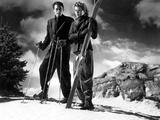 Spellbound, Gregory Peck, Ingrid Bergman, 1945 Photographie