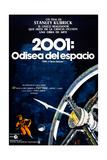 2001: A Space Odyssey, (aka 2001: Una Odisea Del Espacio), Spanish Language Poster, 1968 Impressão giclée