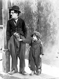 The Kid, Charles Chaplin, Jackie Coogan, 1921 Photographie