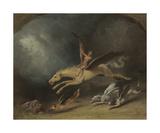 The Fox Hunter's Dream Premium Giclee Print by William Holbrook Beard