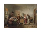Divorce Premium Giclee Print by William Holbrook Beard