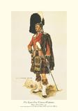 Gli Highlander della regina Stampa giclée premium di A.E. Haswell Miller